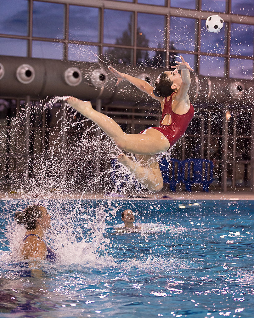 Gala de natation synchronisées